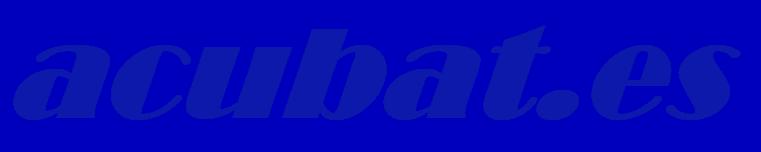 acubat.es | Acumuladores | Baterías Industriales